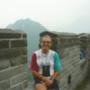 Élete leghosszabb tekerése után a kínai falon