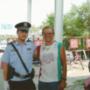Már Kínában. Peking előtt megállították ellenőrzésre - ahogy mindenkit, aki az olimpia idején a városba ment. Miután megértették, hogyan és miként jött, barátságosan engedték tovább