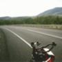 Ausztrál táj és a bicikli