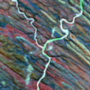 Y: az Ugab folyó Namíbiában.