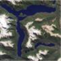 R: jó, végül is az argentin Menendez-tó tényleg hasonlít egy kis r betűre.