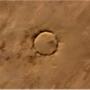 O: meteorbecsapódás nyoma a Szaharában. Az a kör csaknem két kilométer széles.