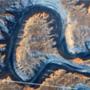 A: Bowknot Bend, az ohiói Green River folyó egy szakasza.